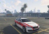 BMW 530D Police Grisons