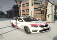 Skoda Octavia Combi Police Lausanne