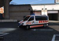 Mercedes Sprinter Police Genève