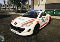 Peugeot RCZ Police Genève