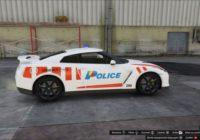 Nissan GTR Police Genève