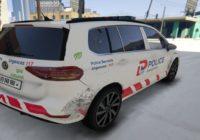 VW Touran Police Lausanne