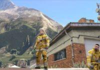 Tenue Sapeurs Pompiers SIS Genève