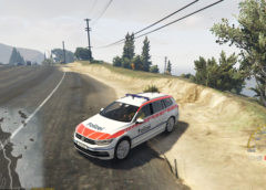 VW Passat Police Zoug