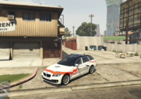 BMW 530D Police Fribourg