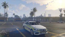 Mercedes C250 Police Bâle