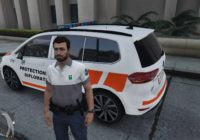 VW Touran Police Diplomatique Genève