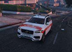 Volvo XC90 Police Municipale Genève