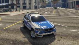 BMW X5 Police Transports CFF Genève