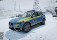 BMW X5 Police Transports CFF Jura